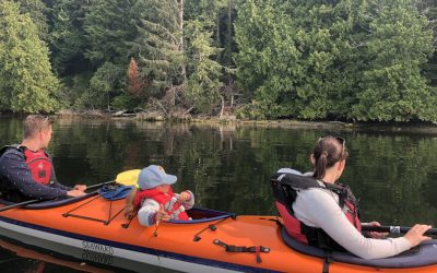Kayaking with Kids ~ Tips for Getting Them Hooked